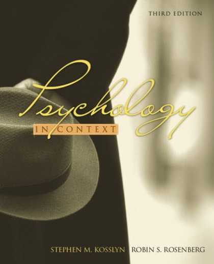 Books About Psychology - Psychology in Context (3rd Edition) (MyPsychLab Series)