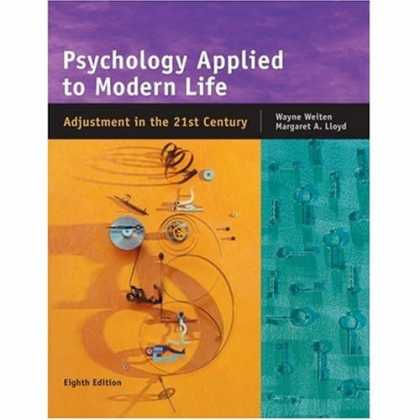 Books About Psychology - Psychology Applied to Modern Life: Adjustment in the 21st Century, 8th Edition