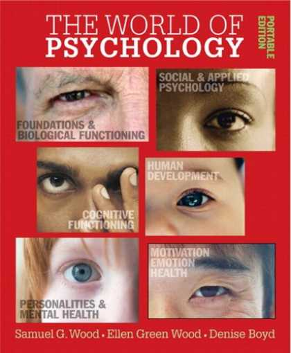 Books About Psychology - World of Psychology: Portable Edition, The (with MyPsychLab) (MyPsychLab Series)