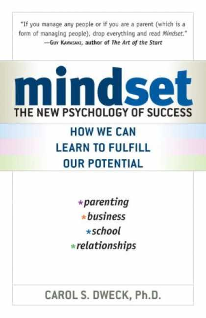 Books About Psychology - Mindset: The New Psychology of Success