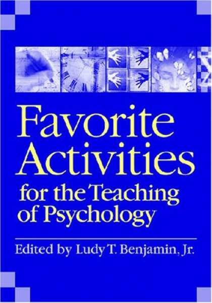 Books About Psychology - Favorite Activities for the Teaching of Psychology