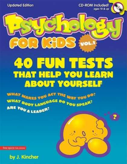 Books About Psychology - Psychology for Kids, Vol. 1: 40 Fun Quizzes That Help You Learn About Yourself (