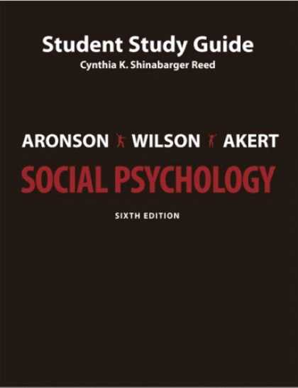 Books About Psychology - Study Guide for Social Psychology