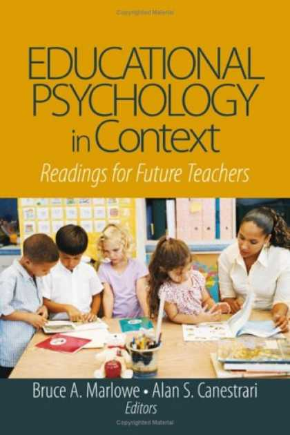 Books About Psychology - Educational Psychology in Context: Readings for Future Teachers