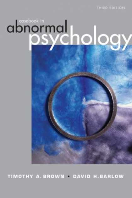 Books About Psychology - Casebook in Abnormal Psychology