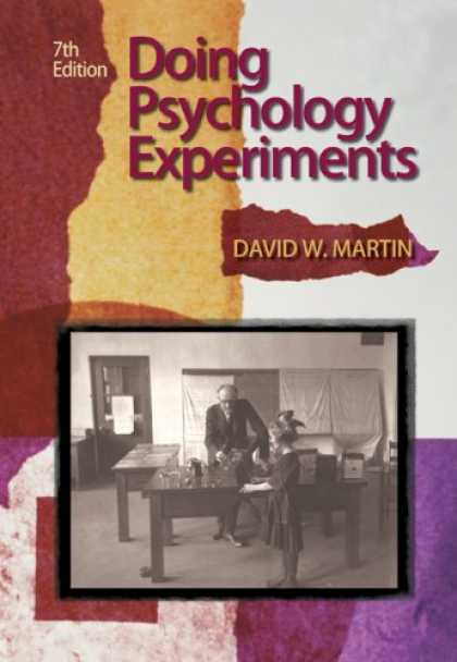 Books About Psychology - Doing Psychology Experiments