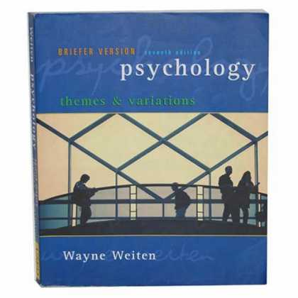 Books About Psychology - Psychology (Themes & Variations, Briefer Version)