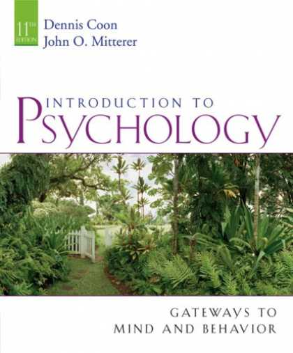 Books About Psychology - Introduction to Psychology: Gateways to Mind and Behavior