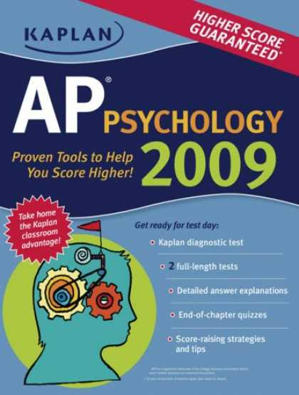 Books About Psychology - Kaplan AP Psychology 2009