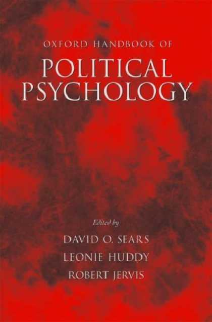 Books About Psychology - Oxford Handbook of Political Psychology (Oxford Handbooks)