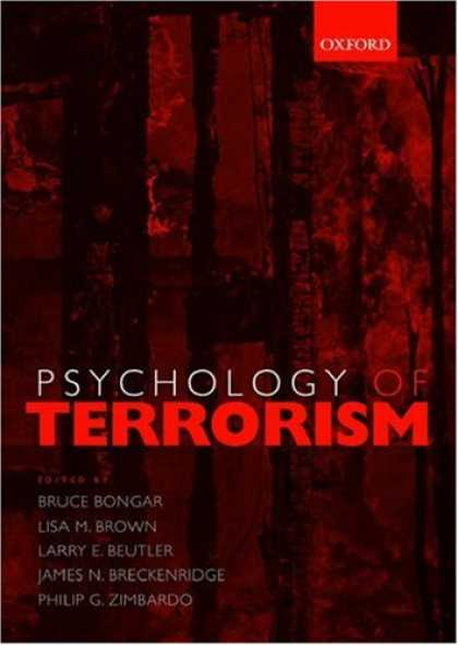 Books About Psychology - Psychology of Terrorism