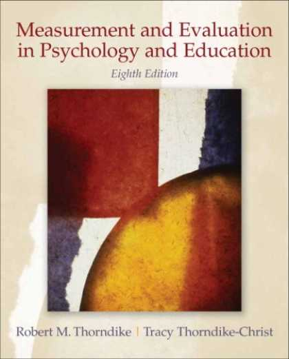 Books About Psychology - Measurement and Evaluation in Psychology and Education (8th Edition)