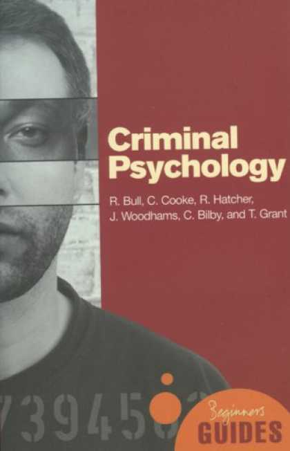 Books About Psychology - Criminal Psychology: A Beginner's Guide (Beginner's Guides)