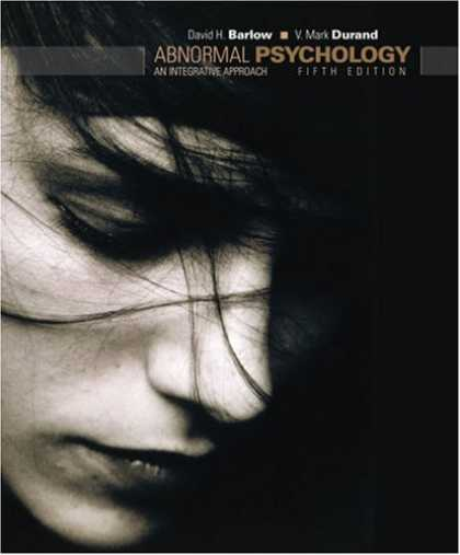 Books About Psychology - Abnormal Psychology: An Integrative Approach (with Abnormal Psych Live CD-ROM)