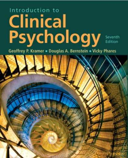 Books About Psychology - Introduction to Clinical Psychology (7th Edition) (MySearchLab Series)