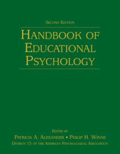 Books About Psychology - Handbook of Educational Psychology