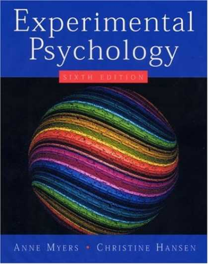 Books About Psychology - Experimental Psychology