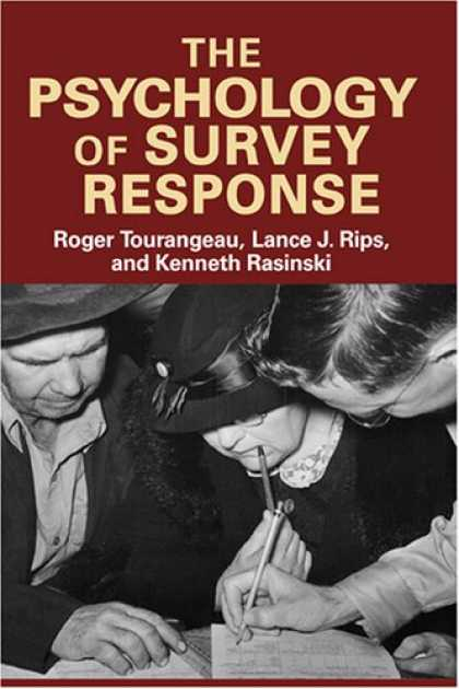 Books About Psychology - The Psychology of Survey Response