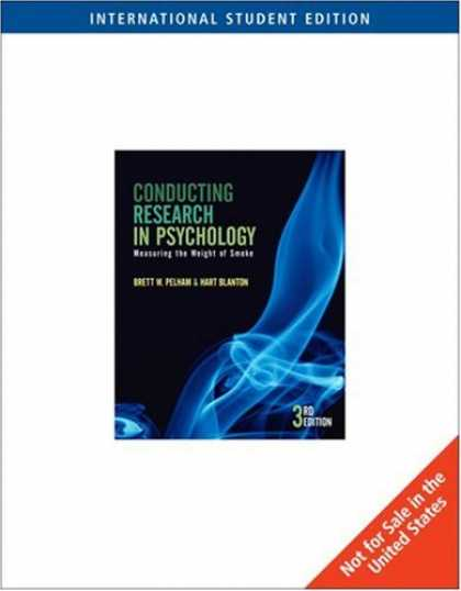 Books About Psychology - Conducting Research in Psychology: Measuring the Weight of Smoke