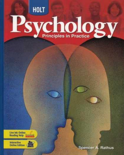 Books About Psychology - Holt Psychology: Principles in Practice