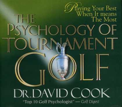 Books About Psychology - The Psychology of Tournament Golf (CD Series)