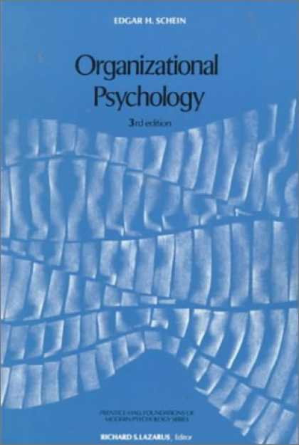Books About Psychology - Organizational Psychology (3rd Edition) (Prentice-Hall Foundations of Modern Psy