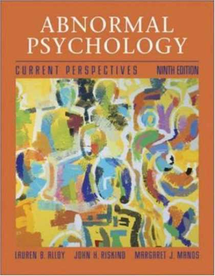 Books About Psychology - Abnormal Psychology with MindMAP Plus CD-ROM and PowerWeb