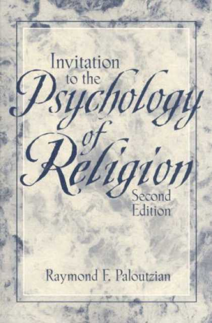 Books About Psychology - Invitation to the Psychology of Religion (2nd Edition)