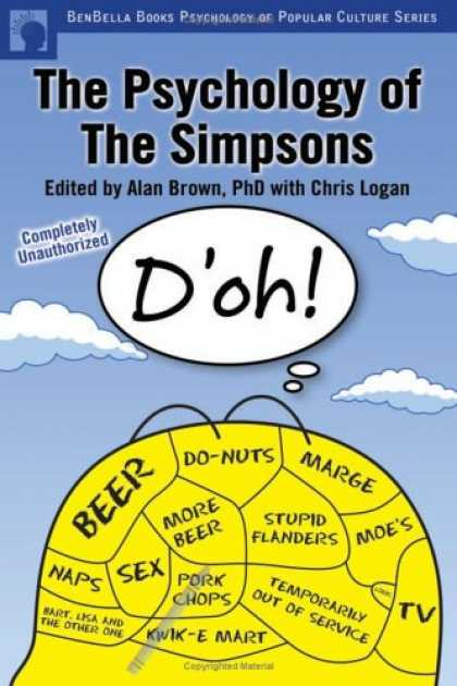 Books About Psychology - The Psychology of The Simpsons: D'oh! (Psychology of Popular Culture series)