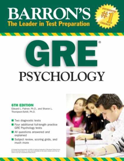 Books About Psychology - Barron's GRE Psychology (Barron's How to Prepare for the Gre Psychology Graduate