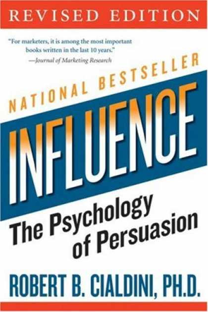 Books About Psychology - Influence: The Psychology of Persuasion (Collins Business Essentials)