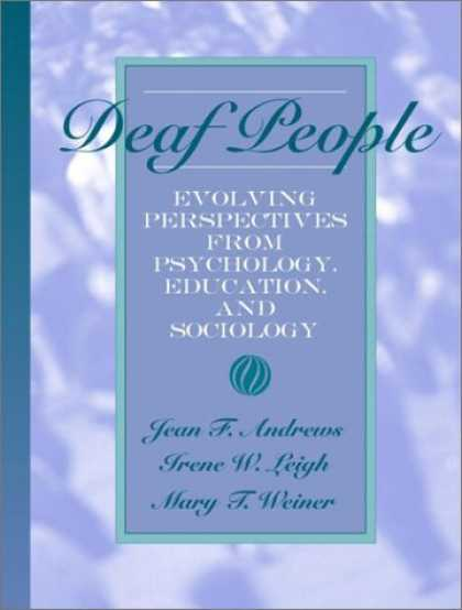 Books About Psychology - Deaf People: Evolving Perspectives from Psychology, Education, and Sociology
