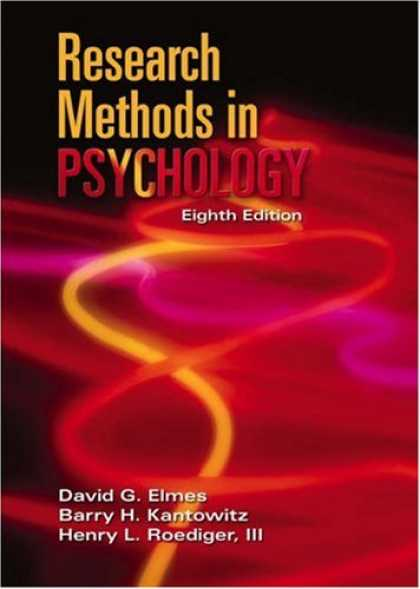 Books About Psychology - Research Methods in Psychology