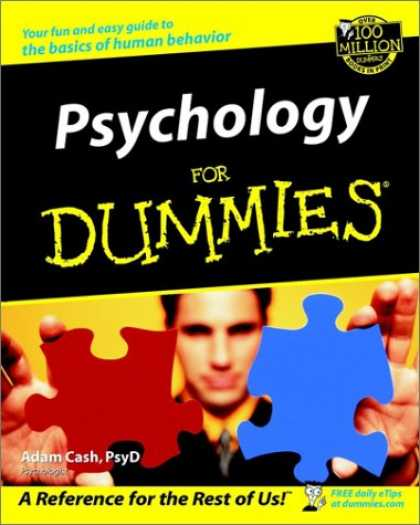 Books About Psychology - Psychology for Dummies