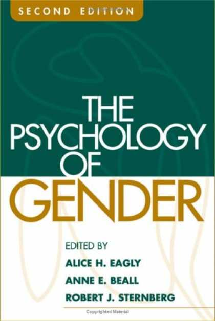 Books About Psychology - The Psychology of Gender, Second Edition