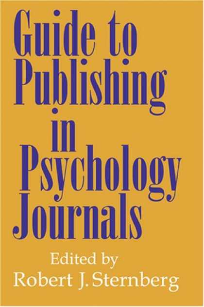 Books About Psychology - Guide to Publishing in Psychology Journals
