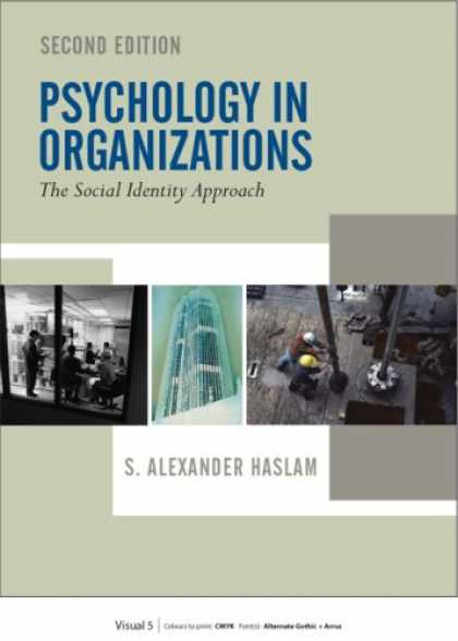 Books About Psychology - Psychology in Organizations