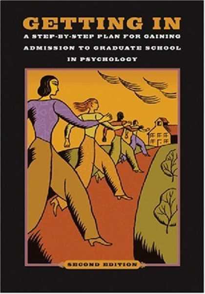 Books About Psychology - Getting In: A Step-By-Step Plan for Gaining Admission to Graduate School in Psyc