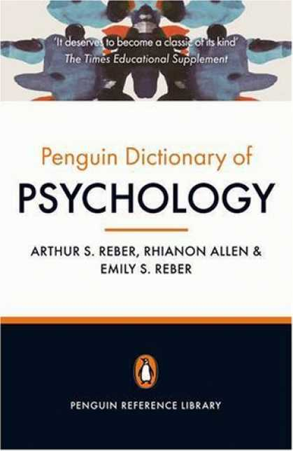 Books About Psychology - The Penguin Dictionary of Psychology: Fourth Edition