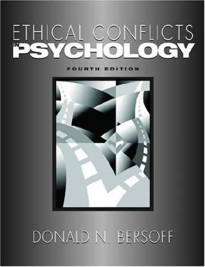 Books About Psychology - Ethical Conflicts in Psychology