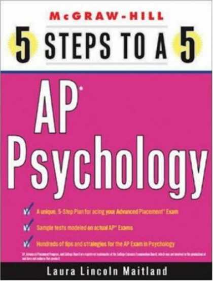 Books About Psychology - 5 Steps to a 5 on the AP: Psychology (5 Steps to a 5 on the Advanced Placement E
