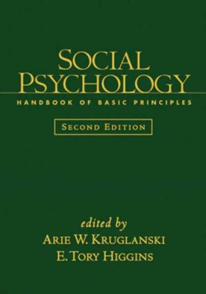 Books About Psychology - Social Psychology, Second Edition: Handbook of Basic Principles