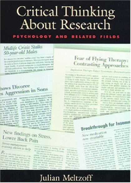 Books About Psychology - Critical Thinking About Research: Psychology and Related Fields