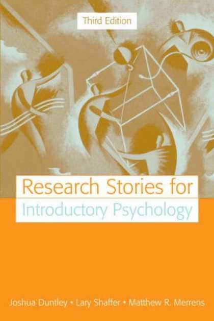 Books About Psychology - Research Stories for Introductory Psychology (3rd Edition)