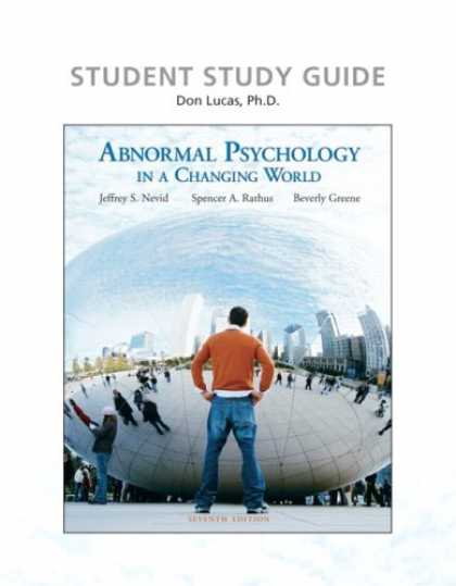 Books About Psychology - Study Guide for Abnormal Psychology in a Changing World