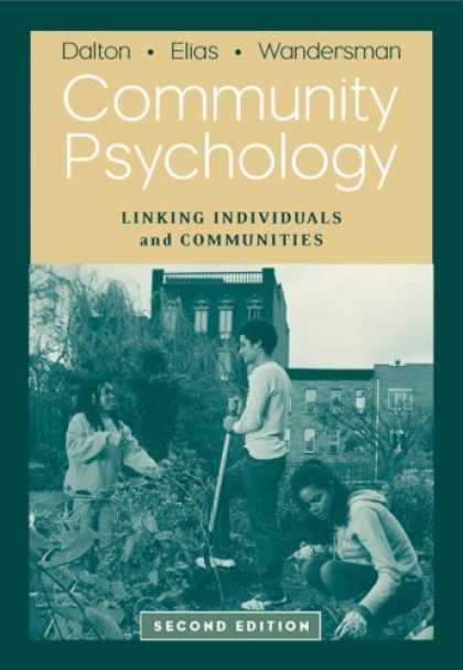 Books About Psychology - Community Psychology: Linking Individuals and Communities