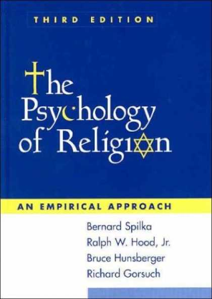 Books About Psychology - The Psychology of Religion, Third Edition: An Empirical Approach