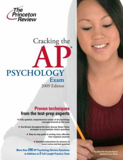 Books About Psychology - Cracking the AP Psychology Exam, 2009 Edition (College Test Preparation)