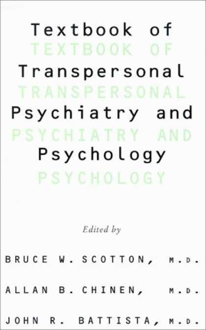 Books About Psychology - Textbook Of Transpersonal Psychiatry And Psychology
