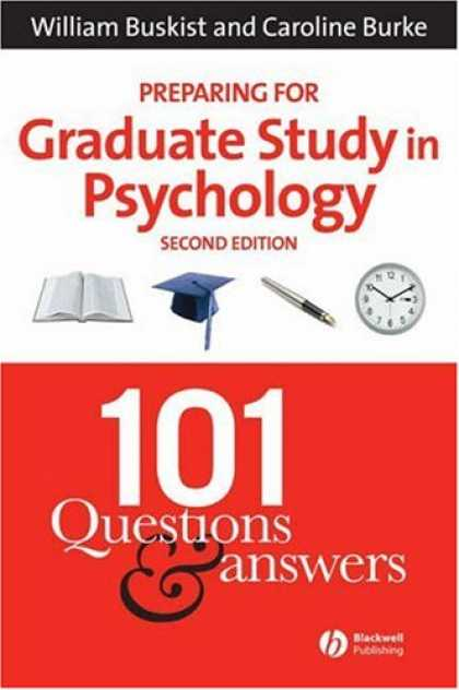 Books About Psychology - Preparing for Graduate Study in Psychology: 101 Questions and Answers